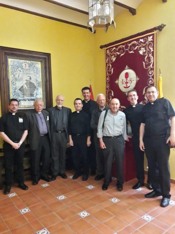 En el recibidor de la Casa Natal de San Juan de Ávila, en Almodóvar del Campo.