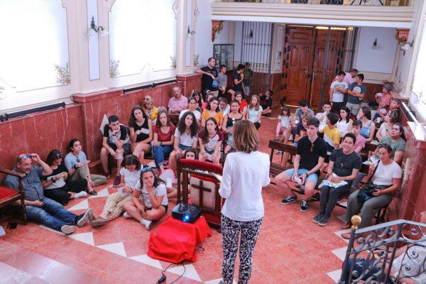 En la capilla de san Juan Bautista de la Concepción, en la tarde del lunes