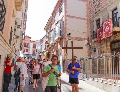 De vuelta, a pie, con el jubileo de san Juan de Ávila